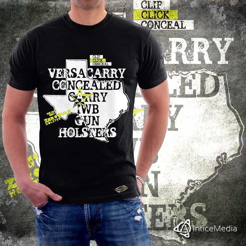 T-Shirt Design for VersaCarry.com