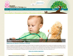 Rankin Children's Group (Website Designed 2013)